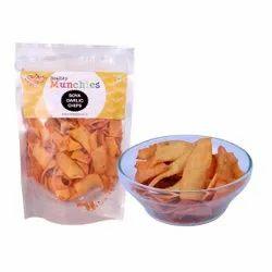 New Tree Soya Garlic Chips, Packaging Size: 150 Gram