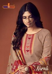 Tunic House Nirali Pure Pashmina Digital Printed Dress Material Catalog