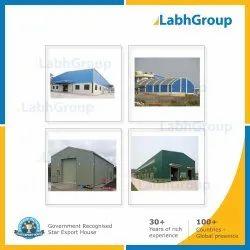 Prefabricated Pre-Engineered PEB Industrial Building