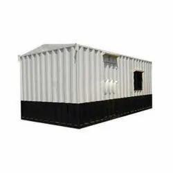 Portable Rectangular Prefabricated Cabin