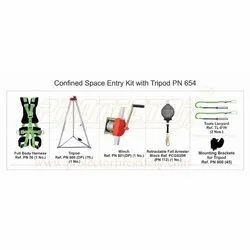 Confined Space Entry Kit With Tripod Karam