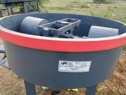 600 Kg Fly Ash Brick Pan Concrete Mixer Machine