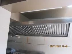 commercial kitchen exhaust wood