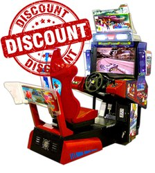 Car Racing Arcade Game Machine - Out Runner Single Player 32