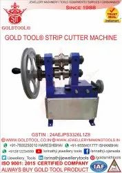 Gold Tool Jewellery Strip Cutter Machine For Jewelry Tube Forming Machine