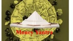 white Plastic Money Yantra, Size: 12 X 12 X 4 Cm