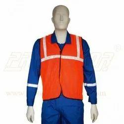 Jacket Net Type ( Green/ Orange)