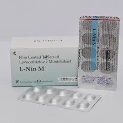 Film Coated Tablets Of Levocetirizine S Montelukast