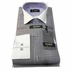 AraRia Regular Fit Men Checks Casual Shirt
