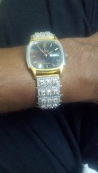 White Gold Diamond Watch