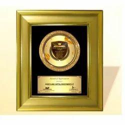 FP 10685 Golden Award Memento