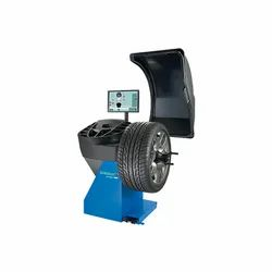 Semi Automatic Wheel Balancer