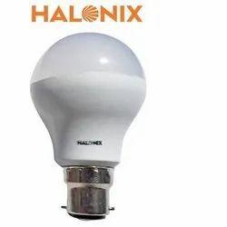 Polycarbonate 5W Halonix LED Bulb, Lighting Color: Pure White