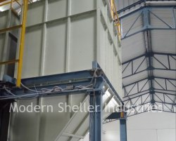 Food Products Weighing Hopper Silos, Storage Capacity: 0-50 Ton