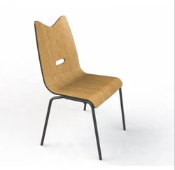 HNI India Wood Cafeteria Chairs, Seating Capacity: 1 Person