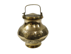 Brass Gangajal Box For Puja Lota