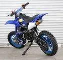 Blue 50cc Super Kids Dirt Bike