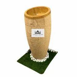 Oval Shape Pedestal Wash Basin