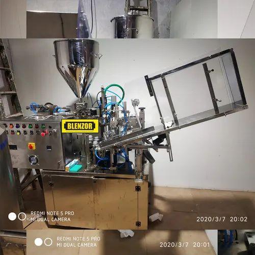 Automatic Tube Filling Sealing Machine