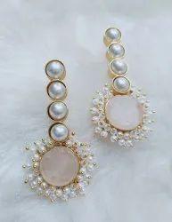 Real Stone Earrings Fashion Earrings
