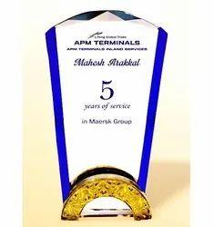 CG 485 Crystal Trophy