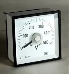 TAUT BAND AMMETER MOVING COIL 240 deg