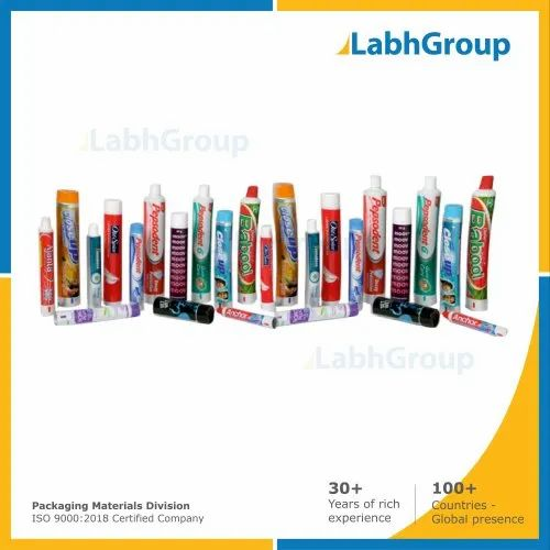 Printed Laminated Plastic Tubes For Packaging