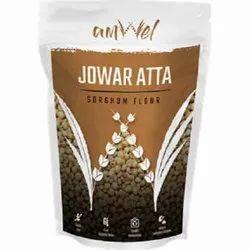 Sorghum Millet (Jowar) Amwel Jowar Atta, 500gram, Packaging Type: Pouch