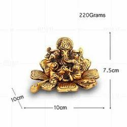 Gold Plated Kamal Ganesh