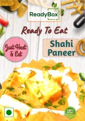 Shahi Paneer, 300g, Packaging Type: Box