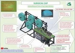 Surgical Cap Making Machine By M/s Amarnaathh India