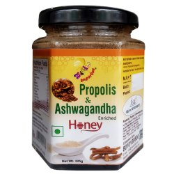Propolis & Ashwagandha Enriched Honey 225g