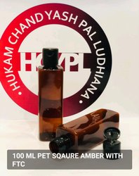 Screw Cap Hair Oil Plastic Bottle