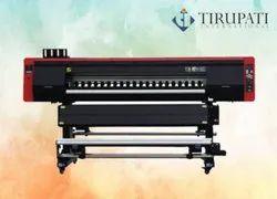 Water Base Ink 2 Printhead Sublimation Digital Printer, 72', Capacity: 45 Square Meter Per Hour Print