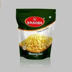 KHAOSA Packet Moong Dal Namkeen, Packaging Size: 400GM