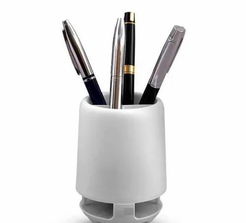 Bluetooth Speaker with Pen Stand