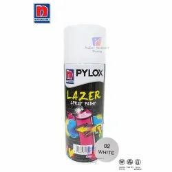 High Gloss Emulsion 02 White Nippon Paint Pylox Lazer Spray Paint, Packaging Type: Bottle, Packaging Size: 400 Ml