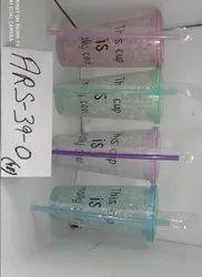 Plastic Transparent Disposable Juice Glass