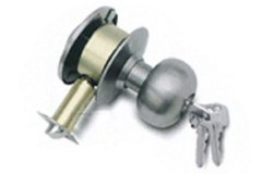 NU-LITE Stainless Steel Cylindrical Lock, Brushed