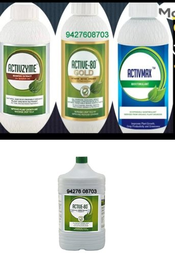 Active 80 500ml Organic Only