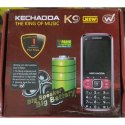 Black K9 Kechaoda Mobile Phone
