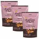 Makhanawalas Roasted Makhana (Foxnuts) Himalayan Pink Salt Pack of 3 80 g Each.