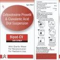Cefpodoxime Proxetil And Clavulanic Acid Oral Suspension
