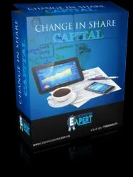 Change in share capital