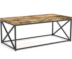 Brown Modern Wooden Coffee Table, For Restaurant