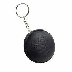 Black Round EVA Earphone Case