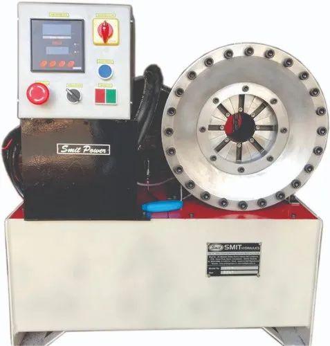 Horizontal Hydraulic Hose Crimping Machine