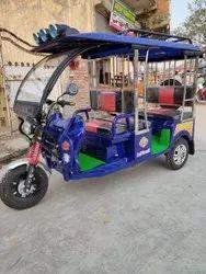 MAHARATHI MARATHI STEEL E rickshaw, Vehicle Capacity: 6 Seater