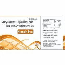 Methylcobalamin, Alpha Lipoic Acid, Folic Acid And Vitamins Capsules