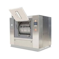 Stainless Steel Hygienic Barrier Washer Extractor, For Hospital